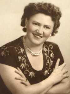 "My paternal grandmother, Catherine ""Katie"" Ann Kučinić Salopek"