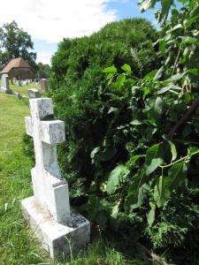 Puskarich Anna's grave back