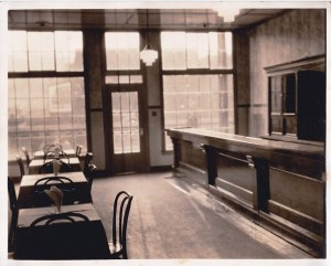 The front door and bar of Milford Gardens. Early 1930's. Proprietor Ivan Vojvoda. Photo Courtesy of John A. Salopek.