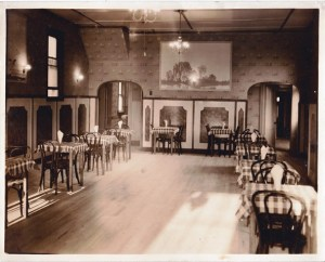 Perhaps many a Croatian immigrant to Duquesne danced on these floors at the Milford Gardens! Photo Courtesy of John A. Salopek.