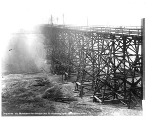 Thompson Run Bridge 1926.