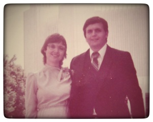Doug & Patti Washington D.C. LDS Temple 1983