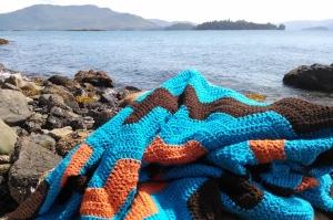 Beach Blanket (c) 2015 Patricia J. Angus