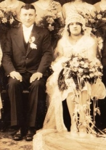 Wedding Photo of Green Gables owners, Pete and Mary Loncaric.